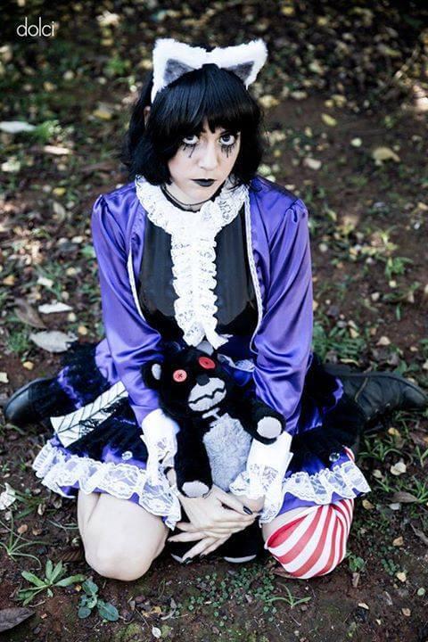 annie gotica cosplay