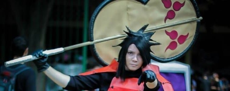 Cosplay do dia Nath Carmo Madara Uchiha