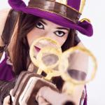 Cosplay do dia: Letícia Perin - Caitlyn + 2