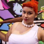 Cosplay do dia: Carolina May (Wilma Flinstone)