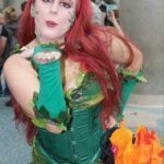 Cosplay do dia: Amber Moon - Poison Ivy