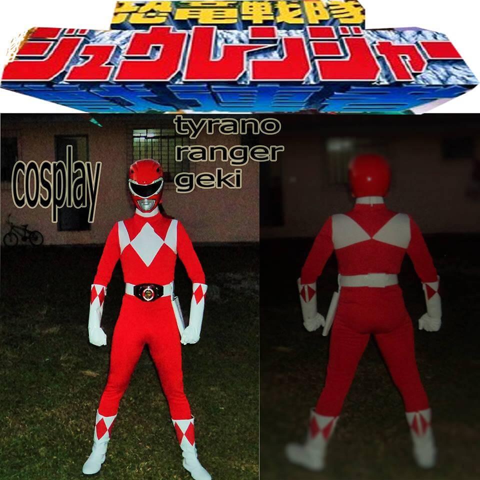 Cosplay Tyranno Ranger