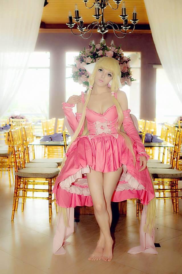 Mirian Maia Chii Pink Dress