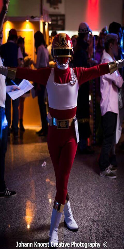 Zyuranger Tyranno Ranger Geki Red Cosplay Costume