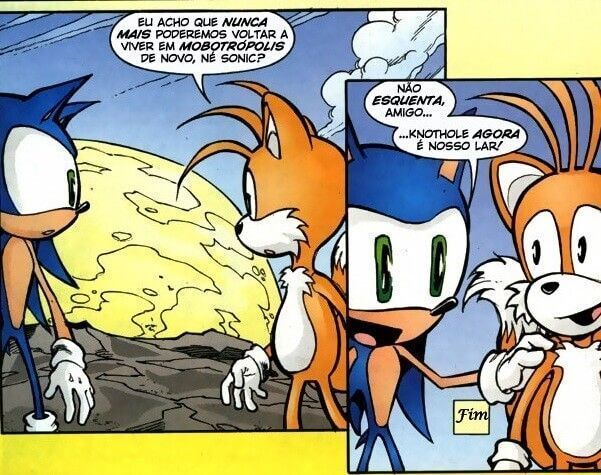 HQs Mangas do Sonic