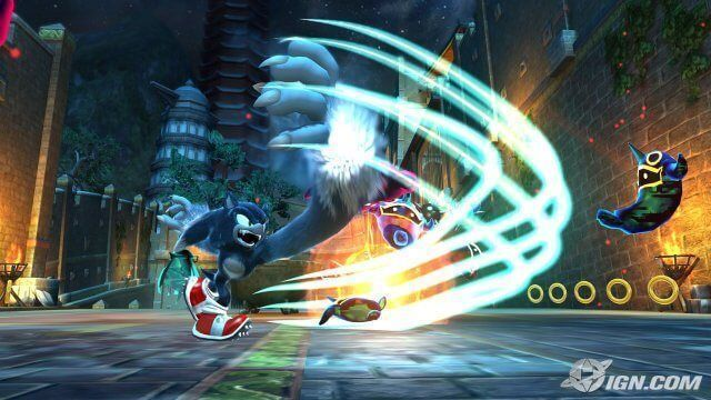 Sonic unleashed ps2 gameplay