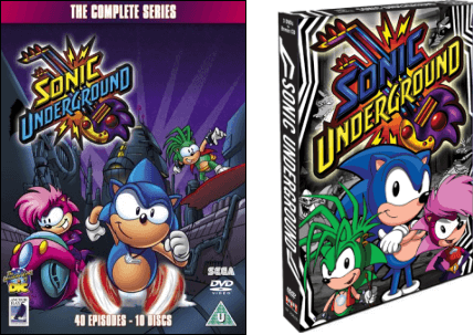 Sonic underground video game