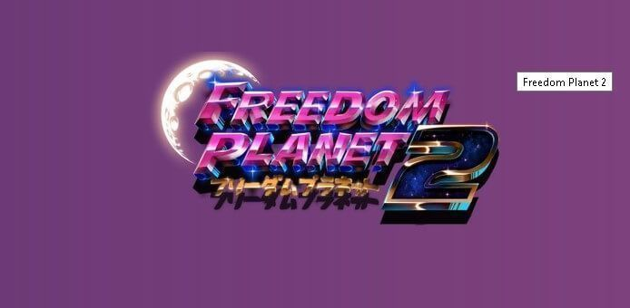 Jogo Freedom Planet