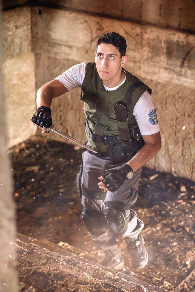 Cosplay do dia Chris Lima Chris Redfield Cosplay