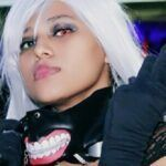 Cosplay do dia: Rafaela Kishimo (Kaneki Ken)