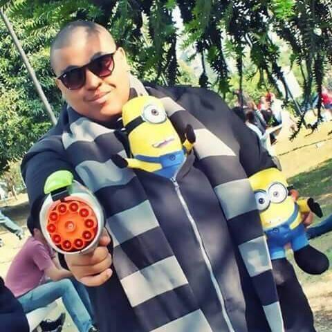cosplay Renato lima Gru