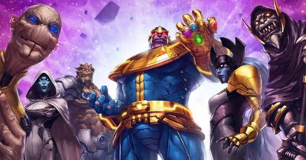 ordem negra titan thanos