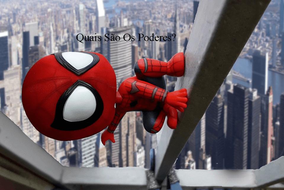 força homem aranha