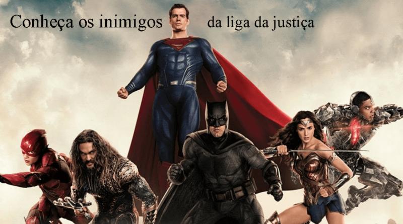Liga da Justiça personagens