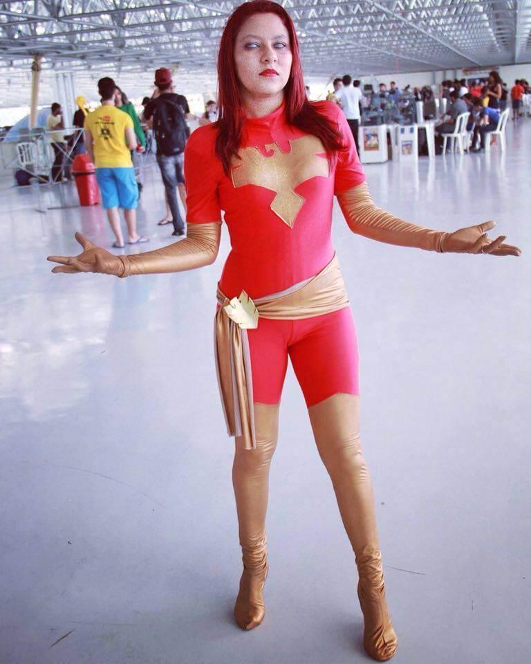 Cosplay Camila Rangel (Fênix Negra)